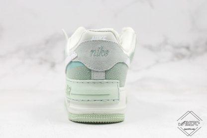 Nike Air Force 1 Shadow Pistachio Frost heel