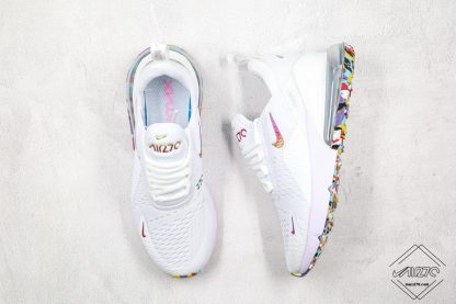 Nike Air Max 270 White With Colorful Front