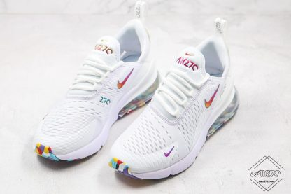 Nike Air Max 270 White With Colorful shoes