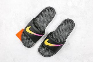 Nike Benassi Black Amarillo