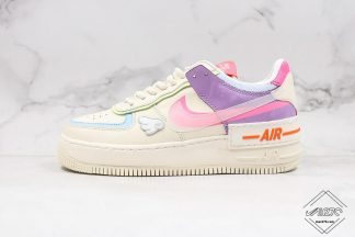 Wmns Nike Air Force 1 Shadow Beige Pale Ivory