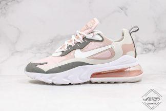 Womens Shoe Nike Air Max 270 React Plum Chalk