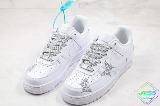 3M Reflective Nike Air Force 1 Butterfly