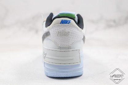 Air Force 1 Shadow Snakeskin Swoosh heel