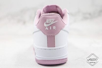 Air Force One Low White Iced Lilac heel