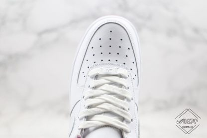 Air Force One Low White Iced Lilac upper