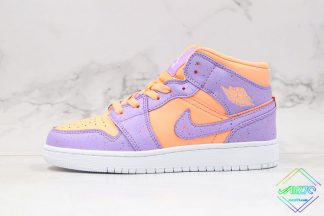 Air Jordan 1 Mid Easter Atomic Pulse With Speckling