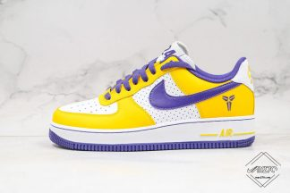 Nike Air Force 1 Low Kobe Bryant LA Purple Yellow