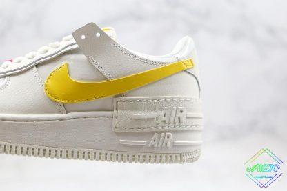 Nike Air Force 1 Sail Opti Yellow double