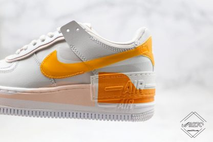Nike Air Force 1 Shadow Pollen Rise layered