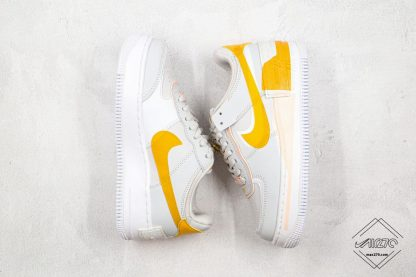 Nike Air Force 1 Shadow Pollen Rise swoosh