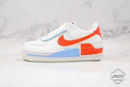 Nike Air Force 1 Shadow SE Team Orange
