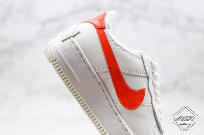 Nike Air Force 1 Shadow SE Team Orange close look