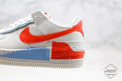 Nike Air Force 1 Shadow SE Team Orange double