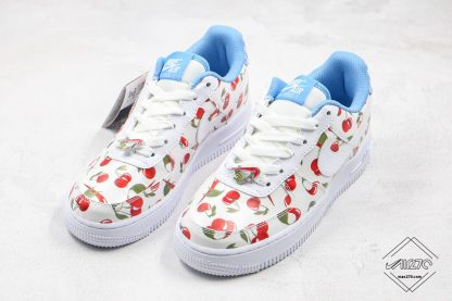 Nike Air Force Low White Cherry for gs size
