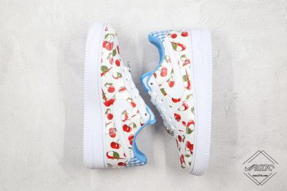 Nike Air Force Low White Cherry upper