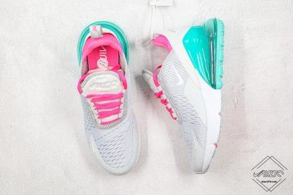Nike Air Max 270 South Beach pink tongue inner