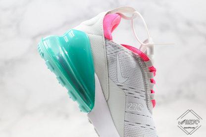 Nike Air Max 270 South Beach teal air unit