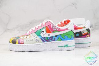 Ruohan Wangs Nike Air Force 1 Low Multicolour