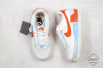 WMNS Nike Air Force 1 Shadow SE Team Orange