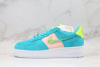 Fresh Nike Air Force 1 Low Oracle AquaGhost Green-Washed Coral