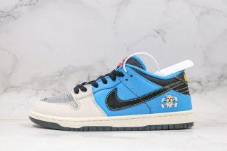 Instant Skateboards x Nike SB Dunk Low 25th Anniversary Blue Grey