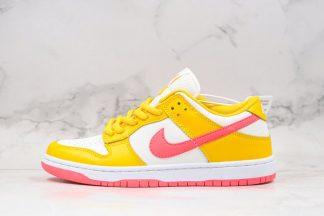 Kasina x Nike Dunk Low Pearl White University Gold-Melon Tint