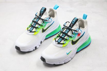 New Nike Air Max 270 React Worldwide White CK6457-100 Front