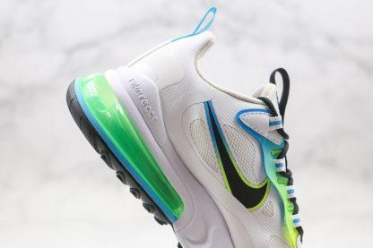 New Nike Air Max 270 React Worldwide White CK6457-100 Medial