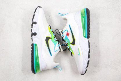 New Nike Air Max 270 React Worldwide White CK6457-100 Top