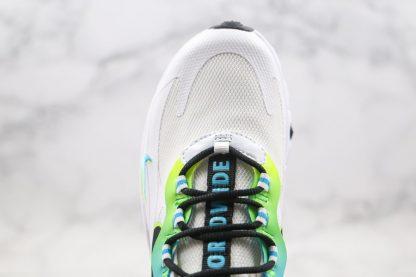 New Nike Air Max 270 React Worldwide White CK6457-100 Upper