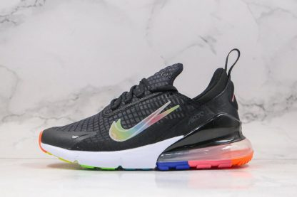 Nike Air Max 270 SE Double-Swoosh Black Colorful