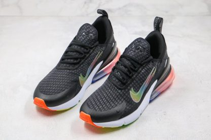 Nike Air Max 270 SE Double-Swoosh Black Colorful Front