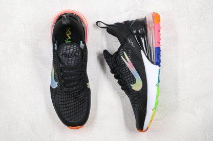 Nike Air Max 270 SE Double-Swoosh Black Colorful Sale