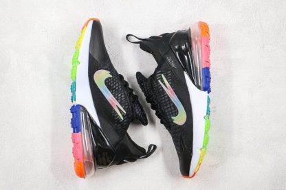 Nike Air Max 270 SE Double-Swoosh Black Colorful Top