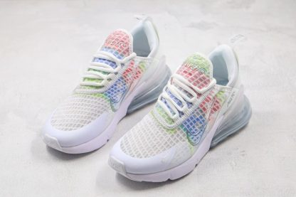 Nike Air Max 270 SE In Ice Fabric White Colorful For Summer Front