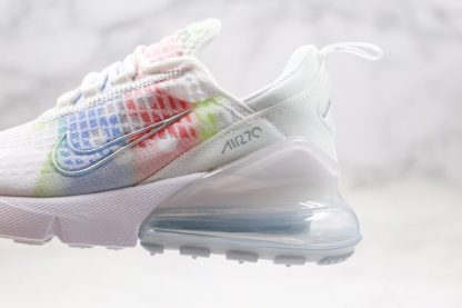 Nike Air Max 270 SE In Ice Fabric White Colorful For Summer Panel