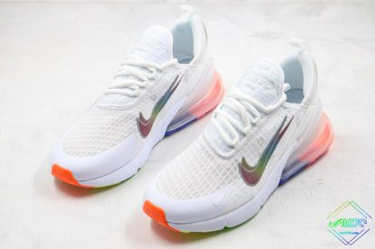 Nike Air Max 270 White Layered swoosh for sale