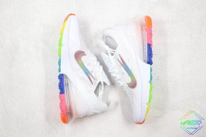 Nike Air Max 270 White Layered swooshes