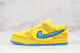 Grateful Dead x Nike SB Dunk Low Yellow Bear CJ5378-700