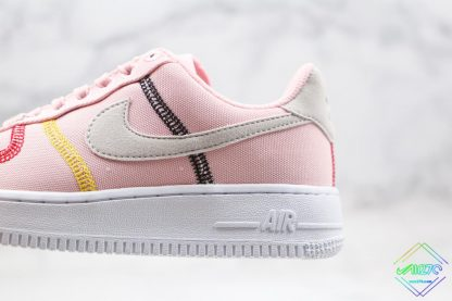 Nike Air Force 1 07 LX Silt Red Soft Pink sole