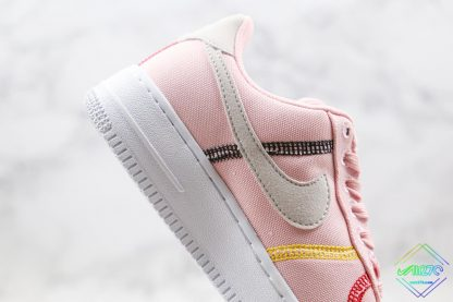Nike Air Force 1 07 LX Silt Red Soft Pink swoosh