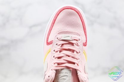 Nike Air Force 1 07 LX Silt Red Soft Pink upper