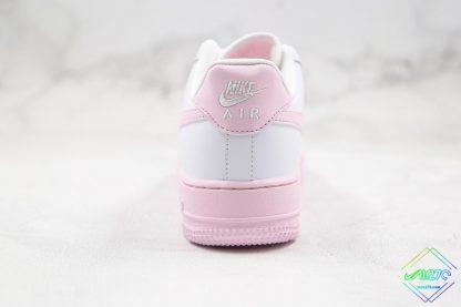 Nike Air Force 1 Low Pink Foam heel