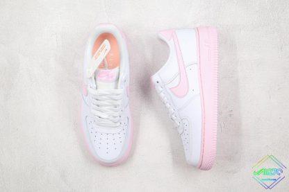 Nike Air Force 1 Low Pink Foam tongue