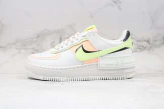 Nike Air Force 1 Shadow White Barely Volt