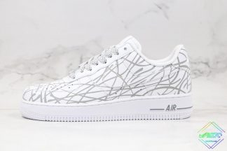 Nike Air Force 1 White 3M Reflective
