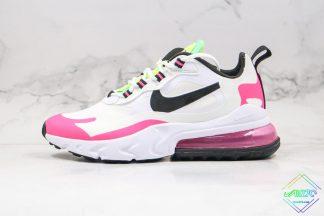 Nike Air Max 270 React White Hyper Pink