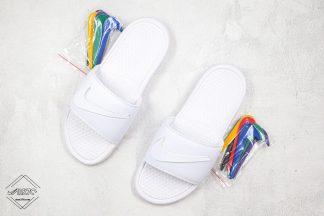 Nike Benassi JDI Swoosh Pack White