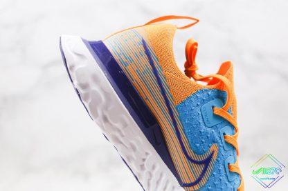 Nike Epic React Infinity Run Flyknit Blue Yellow oversize